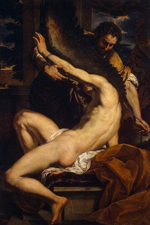 Daedalus and Icarus,  Charles Lebrun, Circa 1645/46