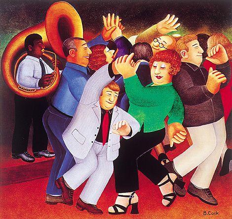 Beryl Cook - Jiving To Jazz