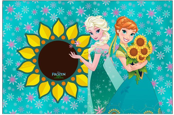 Frozen Fever: Free Printable Invitations.