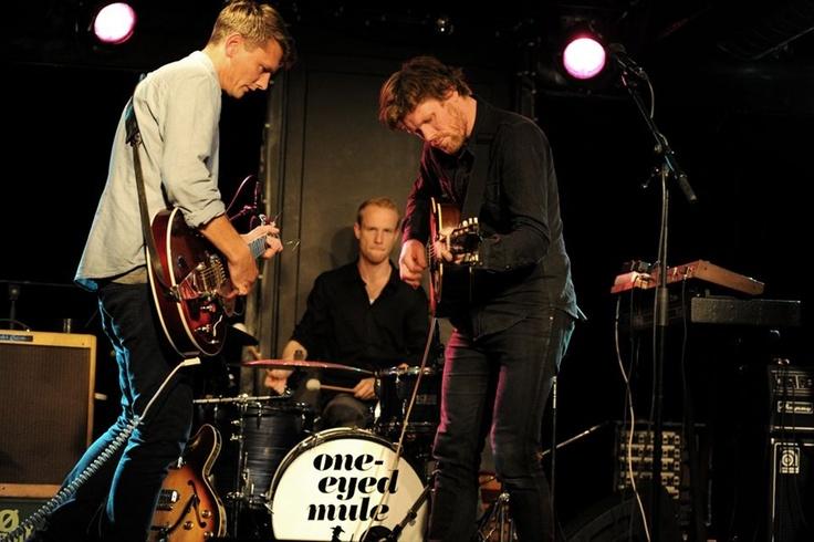Det danske band One-Eyed Mule i Det Bruunske Pakhus i Fredericia.