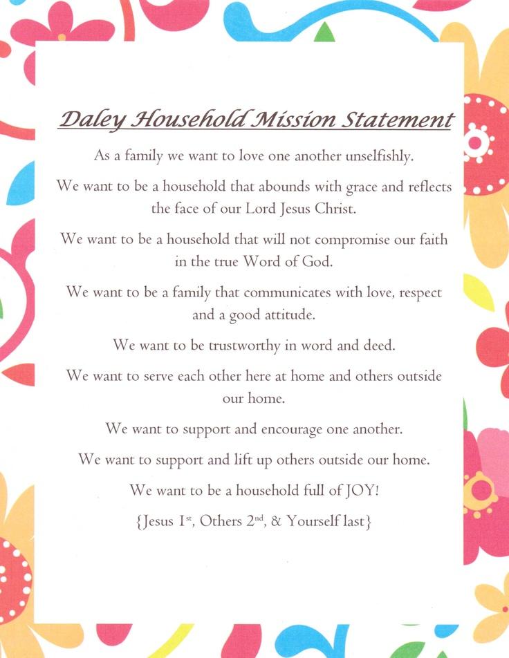 25 unique family mission statements ideas on pinterest our family mission statement sciox Image collections