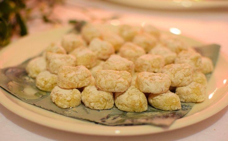 almond Christmas cookies, originally from Siena