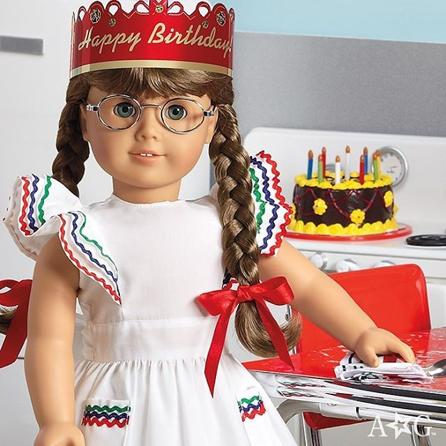 """5,065 Likes, 180 Comments - American Girl (@americangirlbrand) on Instagram: """"Happy birthday, Molly McIntire!  Give her a """"Like"""" to celebrate, and share your favorite Molly…"""""""
