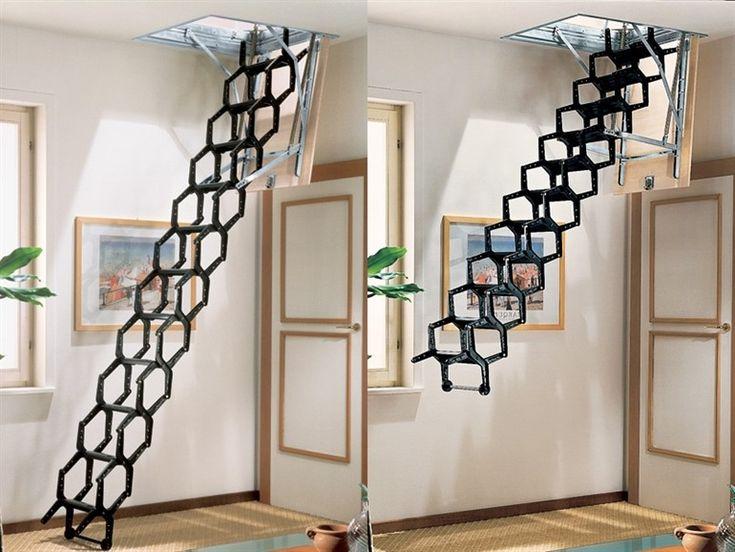 lapeyre escalier escamotable les meilleures ides de la catgorie escalier gain de place sur. Black Bedroom Furniture Sets. Home Design Ideas