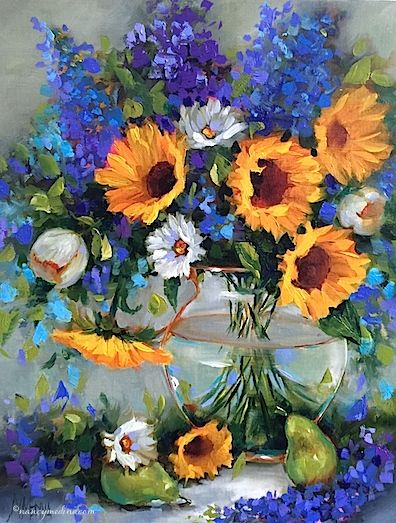 65 best A R T ~ Flowers by Nancy Medina images on Pinterest   Flower ...