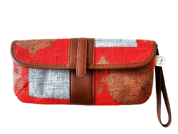 made from Recycled Paper pulp with Recycled plastic handle and details