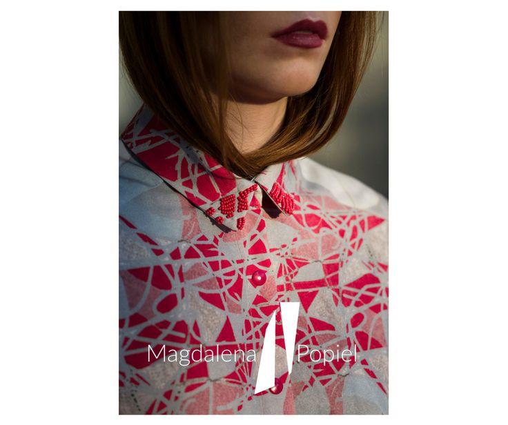 #magdalenapopiel #polscyprojektanci #fashiondesign #polskamoda #koszula #kołnierz