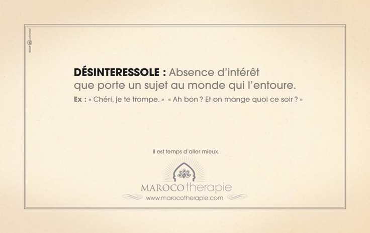 Office National Marocain du Tourisme - Marocothérapie - DESINTERESSOLE