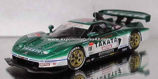 Super GT 2005 Takata Dome NSX Michigami/Kogure 1/43