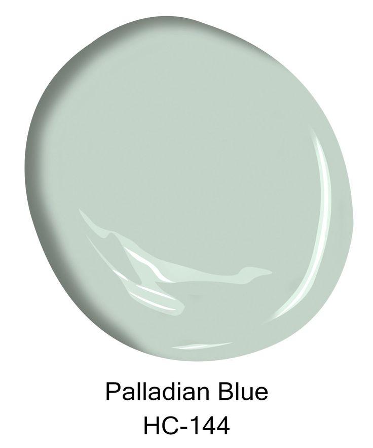 Palladian Blue, HC-144, Courtesy Of Benjamin Moore