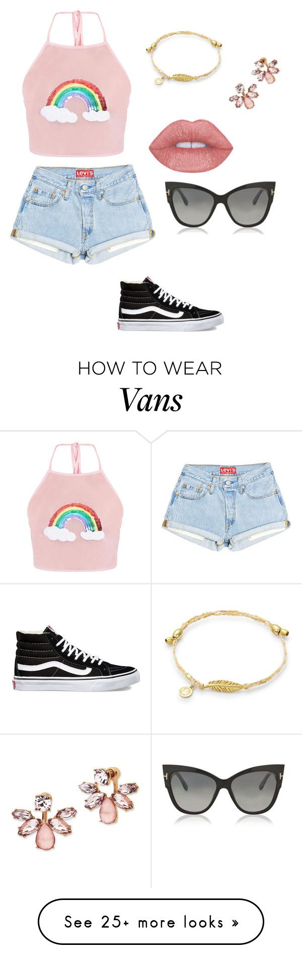 """""""Happy days❤️"""" by purpleunicorn68 on Polyvore featuring Vans, Marchesa and Tom Ford"""