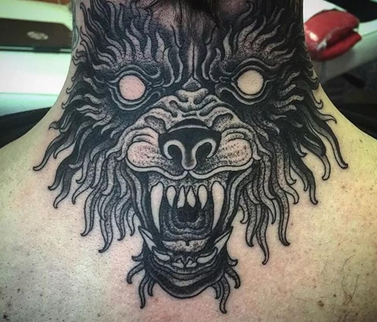 21 best tattoo designs for men images on pinterest wolf for Fake neck tattoo