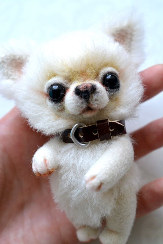 Chihuahua Teddy bear. Adopted by SulizStudio.deviantart.com on @deviantART  to be this talented. :(