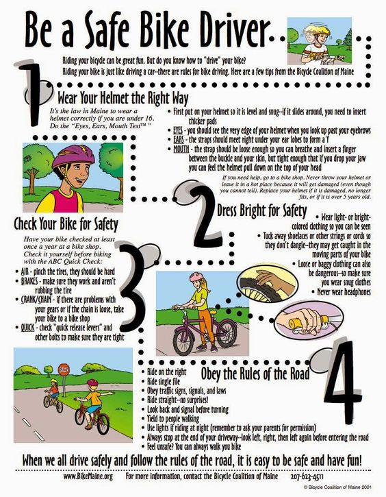 17+ best ideas about Bicycle Safety on Pinterest ...