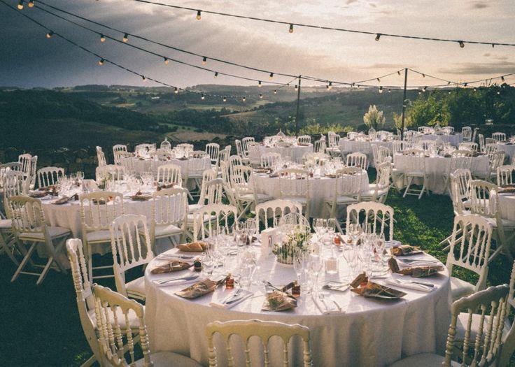 tables at village