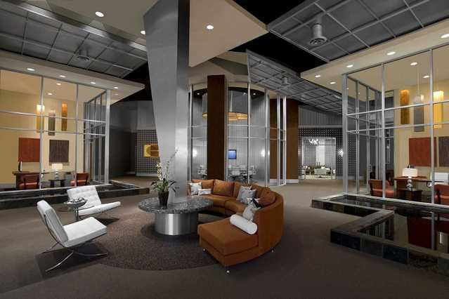 Luxury office buildings in los angeles 599 irvine luxury for Luxury office interior