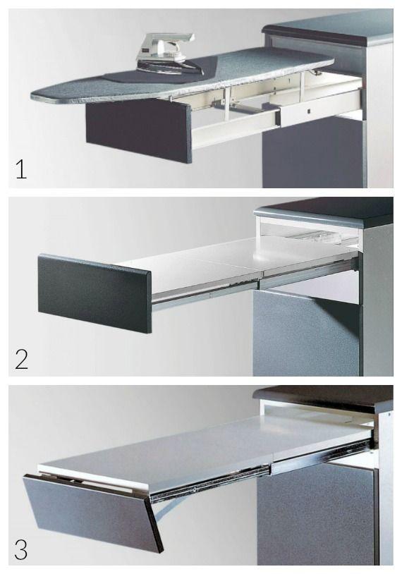 M s de 25 ideas incre bles sobre tabla de planchar en - Herrajes para mesas plegables ...