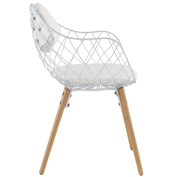Kids desks  Basket Metal White Dining Chair - Overstock Shopping - Great Deals on Modway Dining Chairs