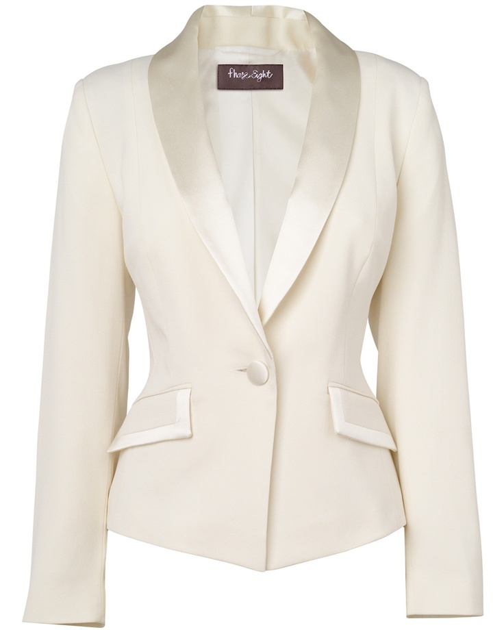 White Jacket Womens