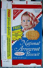 Nabisco Cookies boxes | Exif | 1980s Nabisco National Arrowroot Biscuit box | Flickr - Photo ...