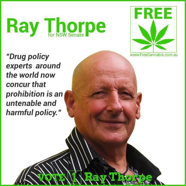 Ray Thorpe - NSW Senate candidate