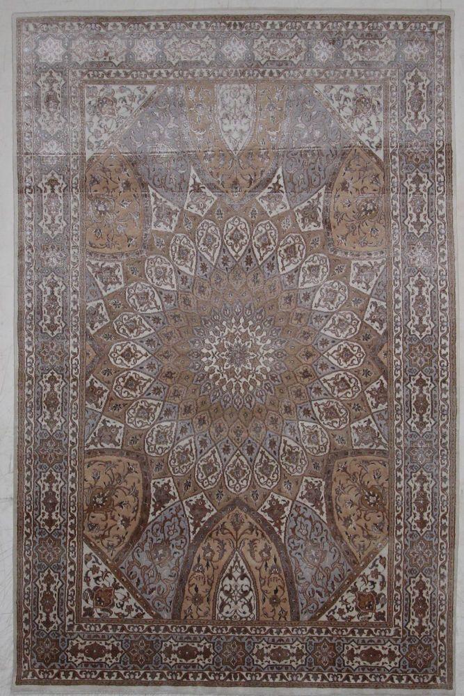 Tabriz Woll Silk Handgeknüpft  Orientteppich 249 x 163 cm orient matto Rug