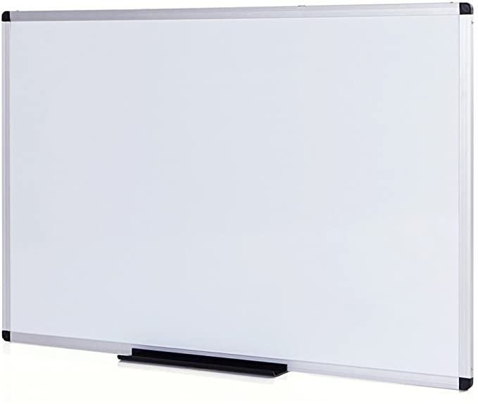 Viz Pro Dry Erase Board Whiteboard Non Magnetic 36 X 24 Inches Wall Mounted Board For School O In 2020 Dry Erase Board Dry Erase Dry Erase Whiteboard