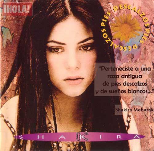 """¡Jueves! Y dedicamos el #TBT al tercer disco de #Shakira, """"Pies Descalzos"""", ¿lo recuerdas? Dinos cuál es tu canción favorita de este álbum lanzado en 1995"""