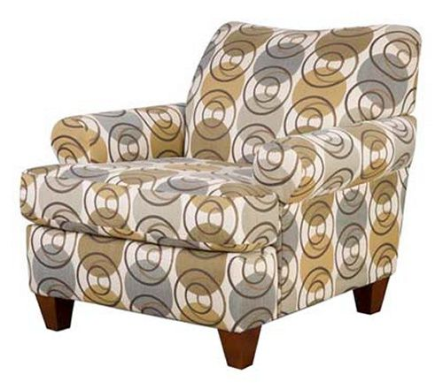 Chelsea Home Ramsey Upholstered Accent Chair - Accent Chairs at Hayneedle