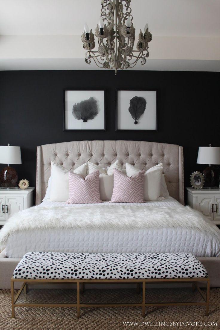 Black master bedroom 226 best Dwellings by