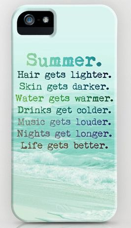 All the reasons why I love SUMMER <3