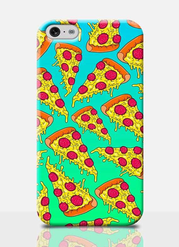 PIZZA iPhone 6 Plus Case PIZZA Slice iPhone by TheSmallPrintCases