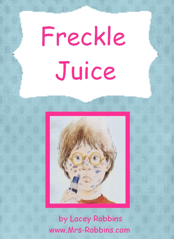 Free Freckle Juice Unit 20 pages