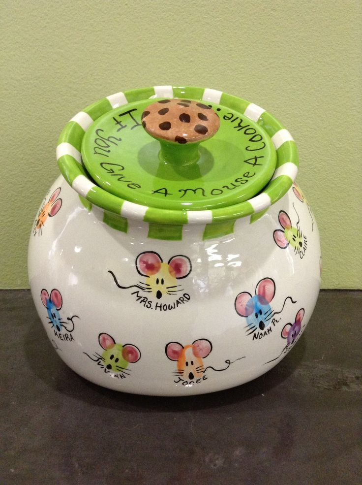 """If you give a mouse a cookie"" auction item we created for a local school!"