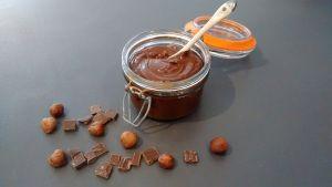 Pâte à tartiner chocolat-noisette (vegan, sans gluten, sans lactose, sans œuf)