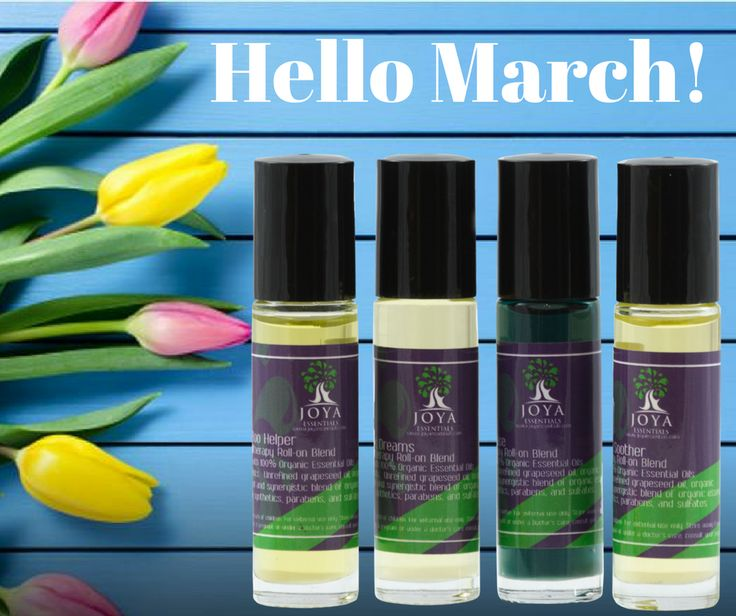 Hello March. Spring allergy season is upon us! Give up antihistamines and try essential oils to prevent and treat allergy symptoms. #Spring @EssentialOils #Allergies