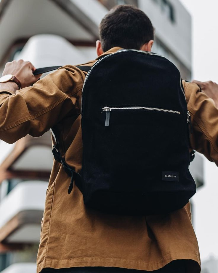 Our new backpack Apollo in black by @intheworldseven on Instagram!