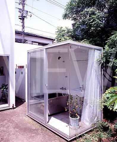 MORIYAMA HOUSE EXTERIOR VIEWMODULAR BATHROOM