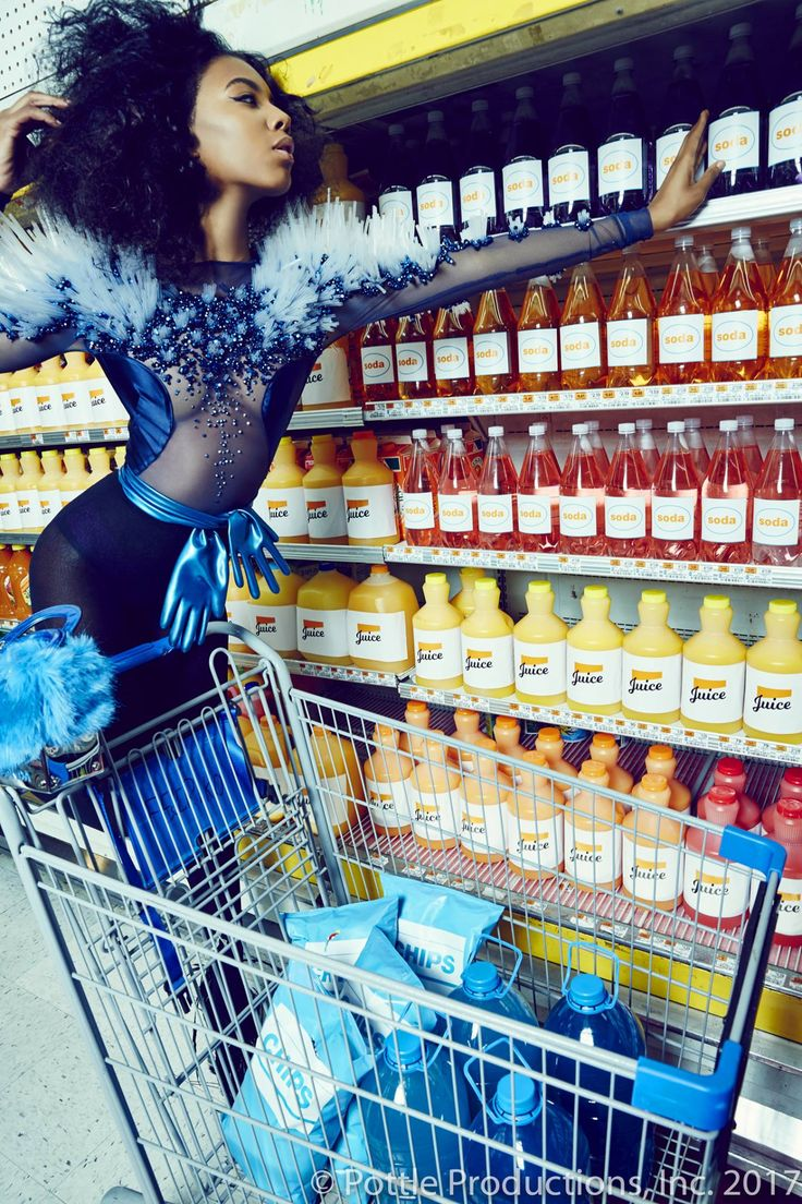 Nude In Supermarket