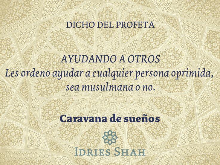 Ayudando a otros. Dicho del Profeta Muhammad.