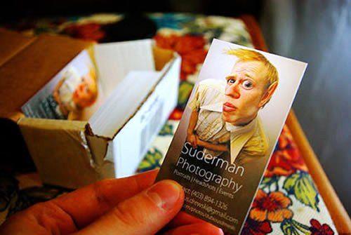 Desain Kartu Nama Unik tidak Biasa | souvenir like business card