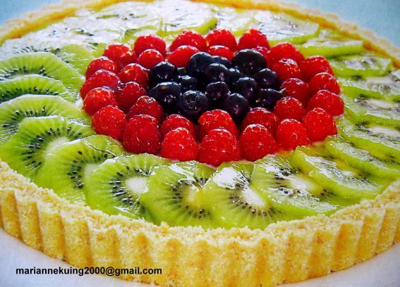 Fruit Flan Cake Decoration : 29 best images about love my fruit flan on Pinterest ...