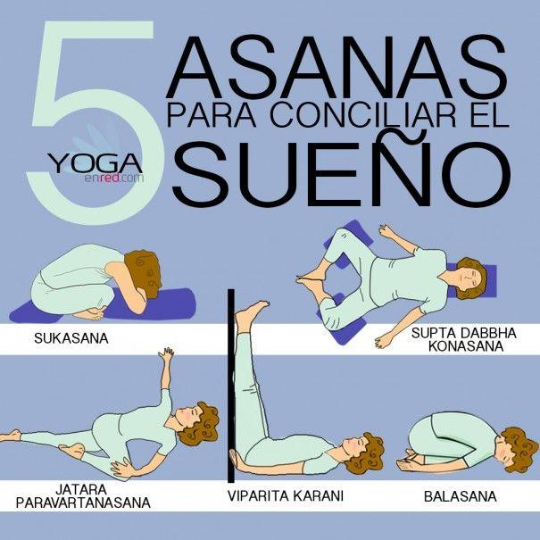 El sueño es uno de los factores más importantes para mantener una buena salud mental y la Yoga tiene para ti algunas posiciones para conciliar el sueño de una manera sencilla. ...
