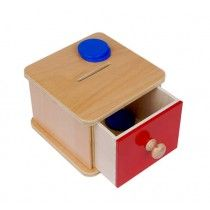 Infant coin box..
