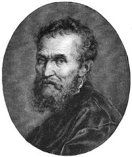 Portrait of Michelangelo Buonarroti - Self Portrait.  Art Experience NYC  www.artexperiencenyc.com/social_login/?utm_source=pinterest_medium=pins_content=pinterest_pins_campaign=pinterest_initial