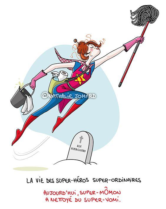 Petit précis de Grumeautique - Blog illustré: La vie des super-héros super-ordinaires - Épisode 1