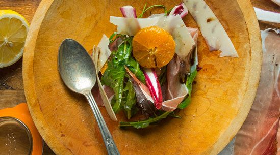 This simple, winter salad by chef Greg Marchand of Frenchie in Paris is the essence of a balanced dish.