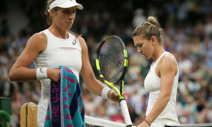 Wimbledon | Pliskova to be World No 1 after Konta tops Halep in quarterfinals = A marvelous match ended on a sour note, but one that ultimately works to Johanna Konta's benefit as well as Karolina Pliskova's. In a splendid 6-7 (2), 7-6 (5), 6-4 win over Simona Halep in the Wimbledon quarterfinals, Konta becomes.....