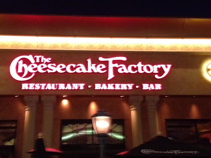 Florida - The Cheesecake Factory, Brandon, Florida. Please go here for me and order a dessert! Amazement will follow.. And pics for me plz!