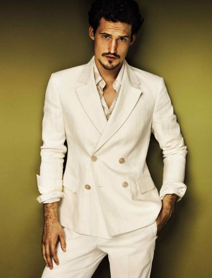 Sam Webb is Peerless for Roberto Cavalli Class Spring/Summer 2012 ~ WANT! (The suit, I mean.)